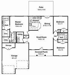 usda house plans easy to build many versions 5107mm 1st floor master