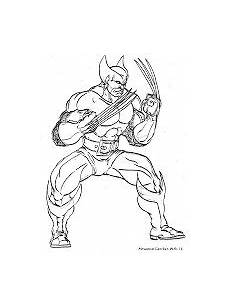 Koleksi Gambar Mewarnai Wolverine Dari