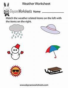 weather activity worksheets for kindergarten 14490 free preschool weather worksheet
