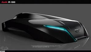 Futuristic AUDI A 100 Car Concept Proposal For The Year Of