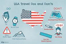 dos and don ts for foreign travelers in the usa