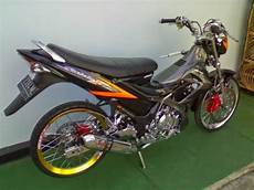 Modifikasi Fu 150 by 20 Gambar Terbaru Modifikasi Suzuki Satria Fu 150