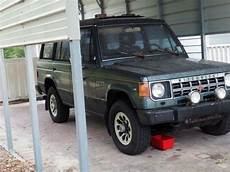 1990 mitsubishi montero ls 4x4 barn find for sale photos technical specifications description