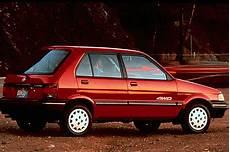 how things work cars 1992 subaru justy parking system 1990 94 subaru justy consumer guide auto