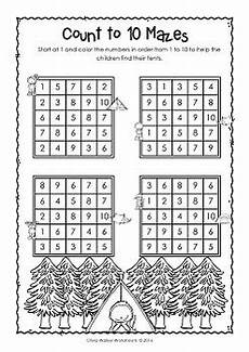 counting and ordering numbers worksheets 8009 counting to 10 ordering numbers to 10 kindergarten worksheets printables