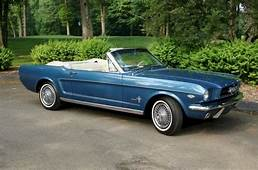 1964 Mustang Paint Colors