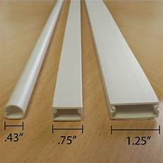 wall cord covers two piece cable raceway with adhesive backing for easy installation protects