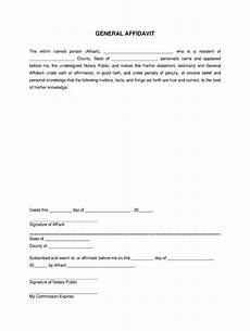 affidavit form fill online printable fillable blank pdffiller