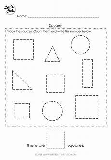shapes worksheets free printable 1021 free pre k square shape worksheet learn to recognise and count the square shapes shapes