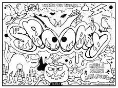 20 free printable graffiti coloring pages