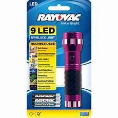 rayovac value bright 9 led uv flashlight walmart com