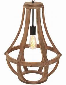 Lustre Suspension Bois Lighting Liberty Bell