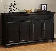 credenza table harwick black credenza sideboard buffet table 35 quot h x 60 quot w
