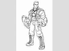 156 dessins de coloriage captain america à imprimer sur