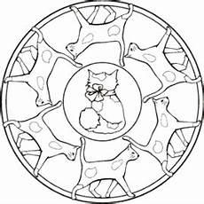 Ausmalbilder Katzen Mandala Malvorlage Katzen Mandala Malvorlage Katze Ausmalbilder