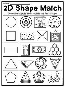 kindergarten 2d and 3d shapes worksheets shapes worksheets shapes worksheet kindergarten
