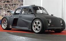 vintage fiat 500 with a lamborghini v12 stuffed in the