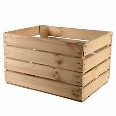 caisse de pommes en bois utilis 233 naturel 40x50x30cm ksd