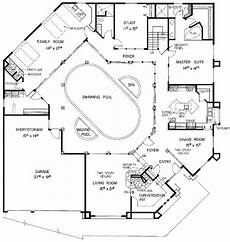 mediterranean house plans with courtyard in middle house plan chp 43377 pool house plans courtyard house