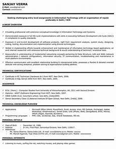 marketing resume sle sle resume for marketing naukri com