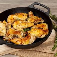 roasted rosemary lemon chicken thighs lemon rosemary