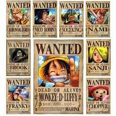 affiches one wanted achat et vente priceminister