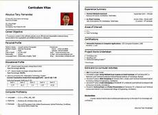 resume sle for fresher bca templates essays writing resume format for freshers resume