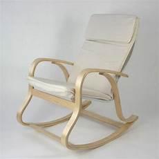Rocking Chair Fauteuil A Bascule Relaxant En Co Achat