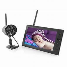 funk kamera mit 7 quot 4 kanal monitor 220 berwachungskamera