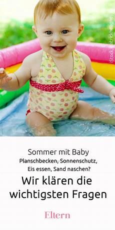 sommer mit baby wir kl 228 ren die wichtigsten fragen baby