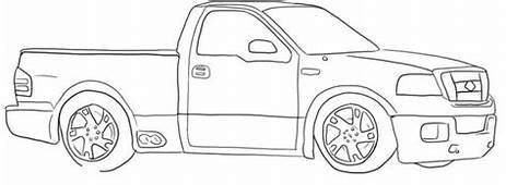 Rc Truck Coloring Pages