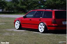stanced volkswagen golf variant mk4 187 cartuning best car