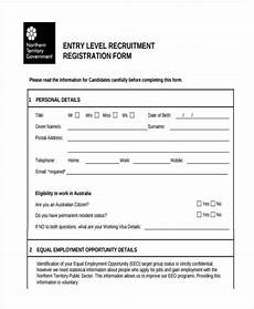 free 9 registration forms in pdf