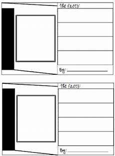 card template printable classroom freebies trading cards template