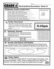 4th grade homework sheets foote in 4th grade math