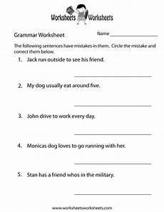 grammar worksheets 24929 grammar practice worksheet free printable educational worksheet