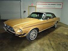 Sunlit Gold 1968 Ford Mustang Sprint For Sale  MCG