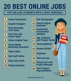 jobs online 20 online jobs for college students working from your dorm
