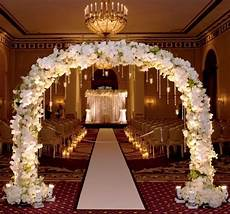 pictures of wedding ceremony decorations inspired wedding theme indoor wedding ceremony
