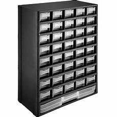 organiser box with 41 drawers storage cabinet nails