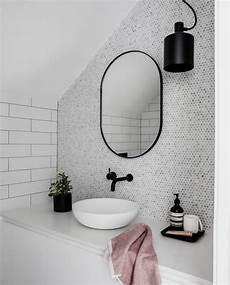 Miroir Rond Patin 233 Noir 80cm En 2019 Salle De Bain