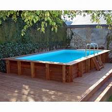Piscine Bois Sunbay Marbella 400 X 250 Cm Mypiscine