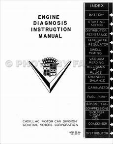1939 cadillac wiring diagram 1937 1948 cadillac engine diagnosis manual reprint