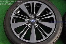 17 quot subaru wrx oem factory charcoal gray wheels 2017 5x114