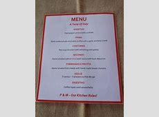 Jarrah Jungle: A Taste Of Italy: Dinner Party Menu