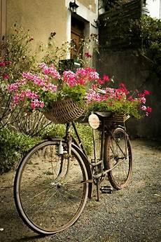 deko fahrrad für blumen blumenkorb fahrrad deko pflanzenkorb weide gartenkorb