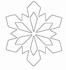 simple snowflake patterns ausmalbild schneeflocken und