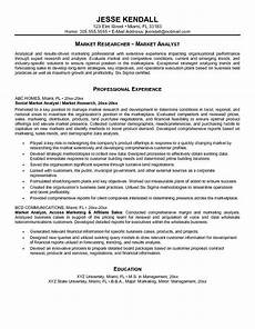 cover letter for market research analyst resume http