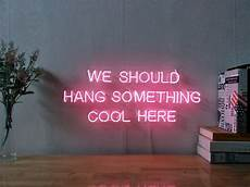 new we should hang something cool here neon sign wall decor artwork with dimmer ebay