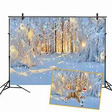 5x3ft 7x5ft 9x6ft Snow Snowflake Forest by 5x3ft 7x5ft 8x6ft Winter Snow Light Forest Photography